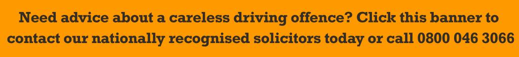 KMOTR banner careless driving