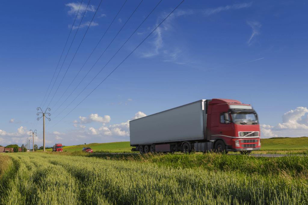 Lorry roadside