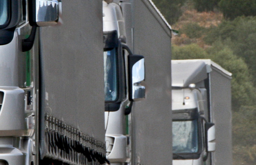 DVSA Investigations Banner with Lorry